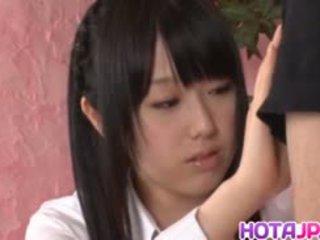 Machiko ono gets сперма після відмінно мінет