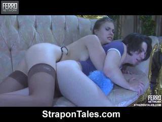 Παρακολουθείστε strapon tales ταινίες με μεγάλος πορνοσταρ martha, randolph, owen