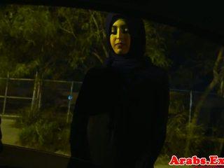 Arab hijabi fucked uz aizliegts ciešas vāvere: bezmaksas porno 74