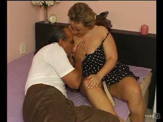Sebuah seksi montok wanita loves seks