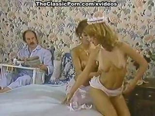 Karen léto, nina hartley v porno klasický klip s a nadržený pokojská