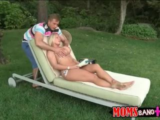 Devon Lee and stepdaughter Britney boned