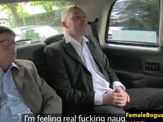 Female cabbie spitroasted в тя taxi, hd порно dd