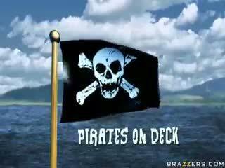 Pirates op deck