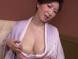 japonais, gros seins, matures