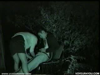 Bench park à midnight.sex