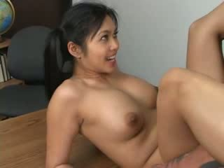 Asiática hottie mika tan assfucked