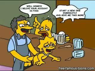 Simpsons family sex