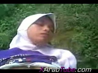 Recorded Sex Tape With Horny Hijab