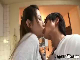 japonés, maduro, milf