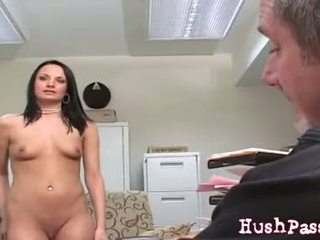 Electra Loves Old Man Cock Inside Her!