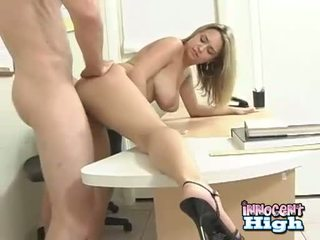 Sizzling bitch Carmella Crush getting her twat cracked by a monster cock behind