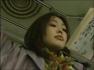 japanilainen, lesbo, bussi