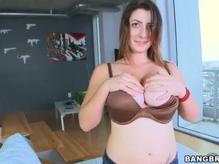 brunette, hardcore sex, blowjob