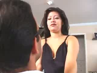 Mglisty mendez loves straddling duży soczyste cocks