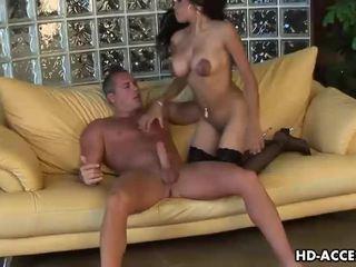 брюнетка, жорстке порно, оральний секс