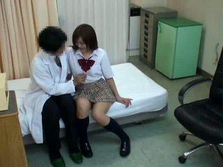 japonais, sexe, écolière