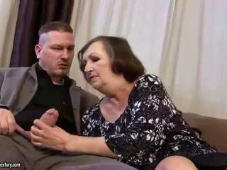 Škaredé tučné babka gets fucked ťažký