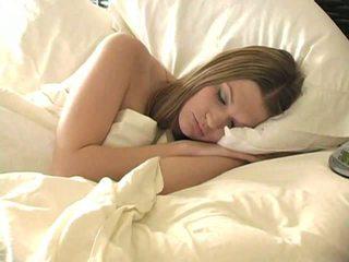 Taniasuperb 金发 女孩 睡眠