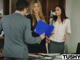 TUSHY Ariana Marie First Anal