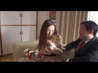 OOBA YUI Secretary fuck her Boss 2