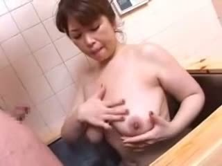 Japanese Mom And Not Her Son