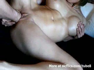 Hot mom aku wis dhemen jancok double fist fucked to a banteng orgasme