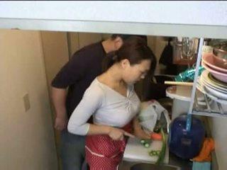 家庭主婦, 廚房, xvideos