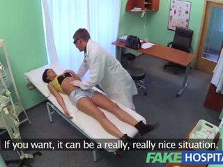 Fakehospital - utländsk patienten med nej hälsa