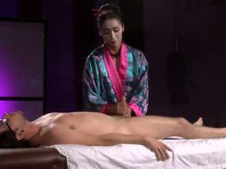 Krásne ázijské geisha (full masáž s robenie chodidlom)