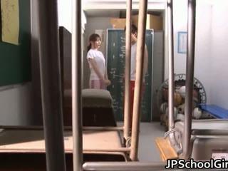 Vroče japonsko šolarka seks video posnetki