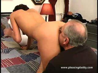 hardcore sex, avsugning, gammal ung sex