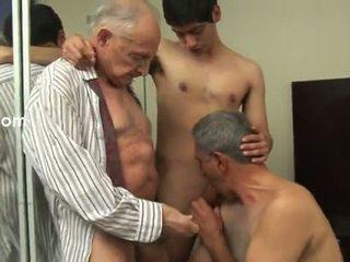 homossexual, velho, anal