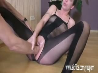 Brutal Fisting Makes Her Teen Twat Squirt Hard