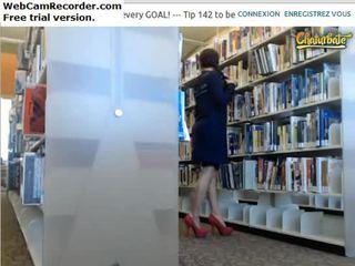 Flashing ass&tities 에 도서관