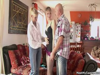 Perverted Parents Seduces Their Son's Girlfriend