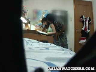 Spycam jung schulmädchen privat lesson 2