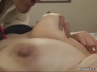 Japonesa milf gets fingered e fodido uncensored