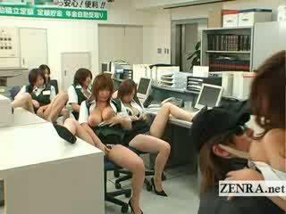 Jepang post kantor penyusup buah dada besar masturbation pesta