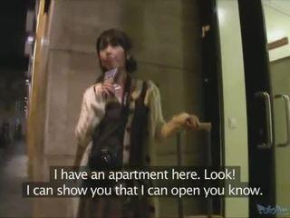 Японська турист persuaded для мати секс