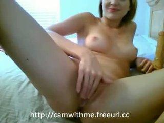 Amatuer amateru ado blonde ado masturbation avec