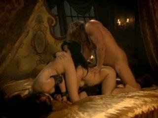 grupinis seksas, šiurkštus, lyžis