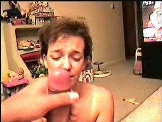 tits, blowjob, swallow