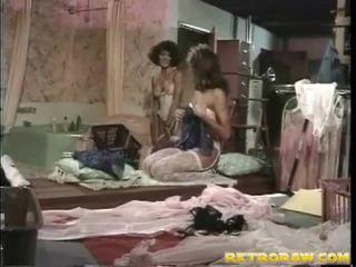 레즈비언 섹스, 레즈비언, 레트로 포르노