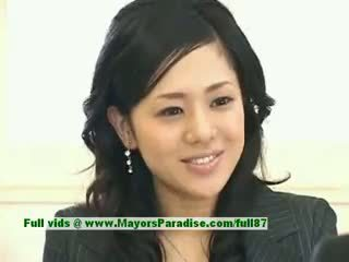 Sora aoi innocent seksikas jaapani õpilane on getting perses