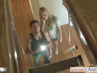 Malaki assed beyb alexis texas jumping a large titi