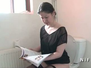 Amatérske francúzske mama seduces chlapec a gets ju zadok nailed