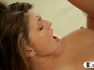 Sultry staci silverstone railed n ins gesicht