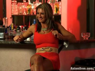 baben, lactating, muscle woman