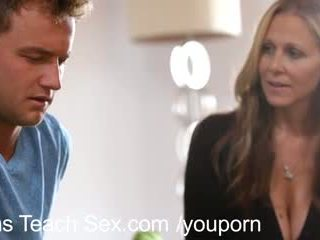 watch threesome hot, creampie, hottest mom great